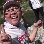 松阪市飯高町櫛田川のアマゴの稚魚放流と釣り体験(2018年6月23日放送)