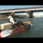 伊勢市宮川のカヤックの釣り(2014年9月13日放送