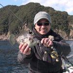 紀北町引本浦の船カワハギ(2018年2月3日放送)