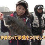 愛知県名古屋港のボートチヌ(2016年7月9日放送)