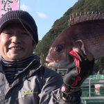 紀北町紀伊長島の釣堀(2017年1月7日放送)